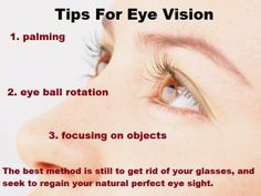 Top Tips For Eye Exercises That Improve Eye Vision