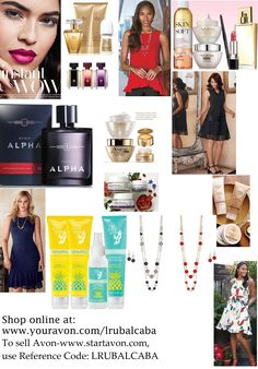 Did you know that Avon is more than just makeup? We have the latest in Women Fashion Wear, everyday products for Men and Women - Perfume, Cologne, of course Makeup, Jewelry, Bath & Body products, and skin care designed to help you put your fresh face forward! Mother's Day is quickly approaching, so get that special lady or ladies in your life something that will have them feeling special this spring!  #Avon #Campaign8 #AvonRep