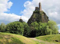 1.- Saint Michell d´Aigilhe, Le Puy-en-Velay, siglo X. Inicio de la Vía Podiensis (Francia)