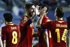 Amistoso: España - Irlanda