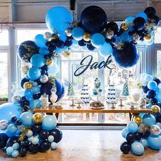 love these colours we created for Jack's christening day by @willowandduck  balloons @boutiqueballoonsmelbourne photography @eleanorconduit #balloonsmelbourne #melbourneballoons #1stbirthday #christeningballoons