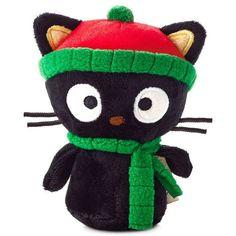 Holiday Chococat - Hallmark itty bitty bittys - Christmas Cat - Hello Kitty NWT #Hallmark