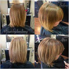 Hair painting color correction