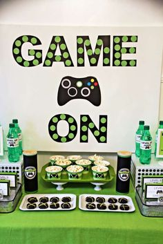 Gaming Video Gamer Birthday Party