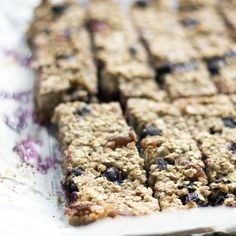A delicious way to use up leftover cooked buckwheat, these blueberry banana buckwheat bars are a delicious and healthy snack.