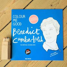 Celebrity themed adult colouring book - Not on the High Street