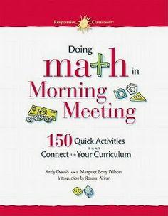 Start the Morning with Math! - Math Coachs Corner
