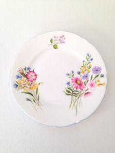 Antique Shelley Fine Bone China Plate / Dish by MariasFarmhouse, $40.00