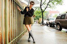 "Kelly Framel, shot in New York, for <a href=""http://www.theglamourai.com/"">The Glamourai</a>."