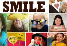 {How to Smile} 12+ Activities to make kids happy
