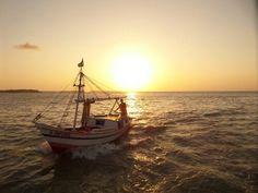 Por-do-sol na Baía de São Marcos