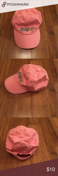 Pink Life Is Good Hat This is a link Life Is Good hat in new condition. NWOT. The hat has three flowers on the front. Life is Good Accessories Hats