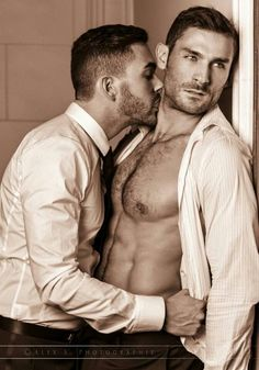 Suited Gay Guys In Strip And Suck Action