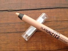 "Rimmel Scandaleyes Waterproof Kohl Eyeliner in Nude instead of using the white kohl to make tired eyes brighter. They show a picture of a lady using ""nude.""  I still think using white is better."