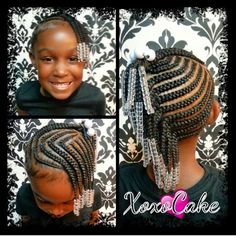 269 Best Cornrows For Kids Images In 2019 Braids For Kids Kid