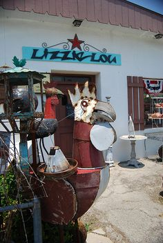 Lizzie Lou's in round Top TX. This place is just PLAIN ol' FUN!, via Flickr.