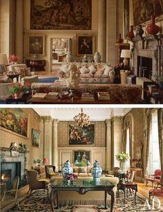 Easton Neston's Restoration : Interiors + Inspiration : Architectural Digest