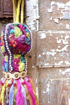Decorative Bohemian Tassel  Bohemian Decor  Gypsy by atopdrawer, $45.00