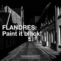 FLANDRES, Belgium: Paint it black! - Reykjavik Boulevard