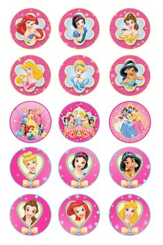 Free Disney Princess Bottle Cap Images