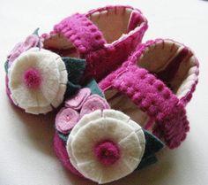 Zapatitos con flores