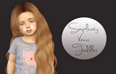 Sims 4 CC's - The Best: simpliciaty-cc Venus - Toddler Version by Fabienne...