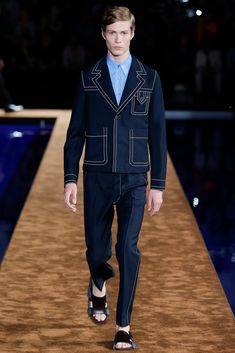 Prada Spring 2015 Menswear Fashion Show