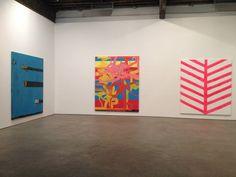 Chris Martin Artist Paintings Anton Kern Gallery New York