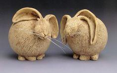 Hand-built ceramic with underglaze. Ceramic Birds, Ceramic Animals, Clay Animals, Ceramic Clay, Hand Built Pottery, Slab Pottery, Ceramic Pottery, Pottery Sculpture, Sculpture Clay