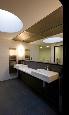 SWISS FIRST LOUNGE, ZURICH, SWITZERLAND | LAUFEN Bathrooms www.laufen.com