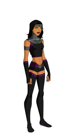 Mar'i Grayson Titans Design by Bobkitty23.deviantart.com on @DeviantArt