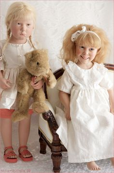 Margot (Götz and Zoe (Götz by Anne Mitrani I love Gotz dolls,, Teddy Bear Toys, Gotz Dolls, Dolls For Sale, Reborn Baby Dolls, Hello Dolly, Collector Dolls, Miniature Dolls, Vintage Children, Beautiful Dolls