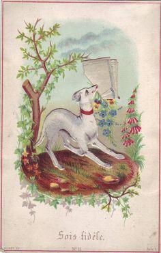 carte postale ancienne sois fidele