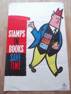 British post war posters and graphics. Retro Design, Graphic Design, General Post Office, Vintage Ads, Derby, 1960s, Stamp, Posters, War