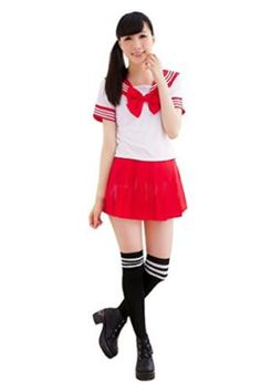 Ninimour- Japan School Uniform Dress Cosplay Costume Anime Girl Lady Lolita    100% Brand and New Size S/M/L/XL Available Color:Red/Green/Hot Pink/Pink/Purple/Navy Blue/ New Cute Sexy Japanese School Girl Sailor Uniform Cosplay Costume Package Content: 1 x Women Dress  The post Ninimour- Japan School Uniform Dress Cosplay Costume Anime Girl Lady Lolita appeared first on Halloween Costumes Best.  -- #sexycostume #halloween