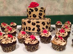 Leopard cake                                                                                                                                                     More