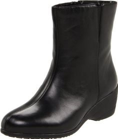 David Tate Women's Puppy Ankle Boot Boot,Black Leather,9.5 4A US,