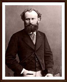 """18. ÉDOUARD MANET (1832-1883) – Manet fue el faro del Impresionismo, un revolucionario dentro de una época de grandes revoluciones artísticas. La """"Olimpia"""" o """"El desayuno sobre la hierba"""" abrieron el camino para las grandes figuras del Impresionismo"""