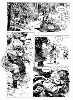 Winter World Texts by Dixon, January (Eclipse Comics) Comic Book Layout, Comic Book Pages, Comic Book Artists, Comic Book Characters, Comic Artist, Comic Books Art, Western Comics, Magnum Opus, Bd Comics