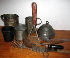Kitchen Primitives from Pennsylvania Farmhouse