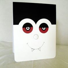 Halloween Punch Art - Character Cards - Count Dracula