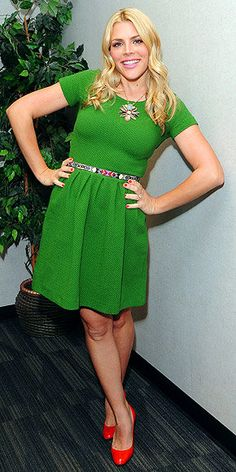 Busy Philipps in another fun dress from Anthropologie. http://rstyle.me/hidpxnmn8e
