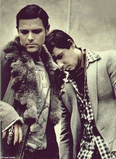 Christoph Schneider and Richard Kruspe
