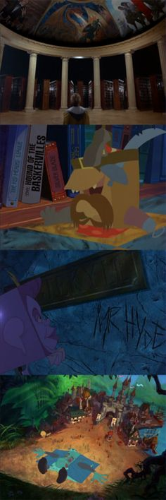 The Pagemaster, 1994 (dir. Joe Johnston, Pixote Hunt) By...