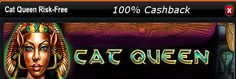 100% cashback by playing Ancient Egypt slots game, the Cat Queen risk-free with Winnercasino:-  #Winnercasino is offering its player to get 100% cashback on losses, by playing Ancient Egypt #Slotsgame- #the_Cat_Queen_Risk_Free on Nov 26, under its current month #promotions section. So start playing  The Cat Queen Risk Free, with nothing to lose. http://www.onlinecasinoaustraliareviews.com/winner-casino.html  #onlineslots #onlinecasinopromotions #onlinecasinoaustralia