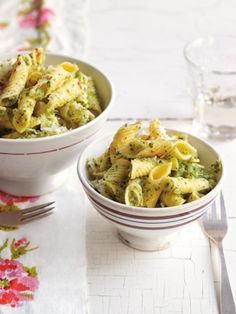 Leaving-Home Penne Rigate with Broccoli