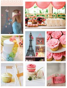 no party like a french girl party!  love the macaroons and Eiffel Tower! I miss Paris