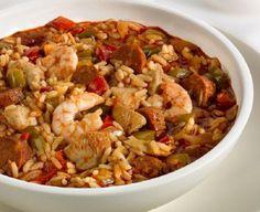 Classic One-Pot Jambalaya, #Cajun and #Creole 15 Fantastic Jambalaya Recipes | Yummy #Recipes