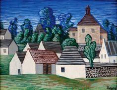 Jan Zrzavý: Okrouhlic Civil Engineering, Roman Catholic, Taj Mahal, Drawings, Illustration, Artist, Houses, Paintings, Top