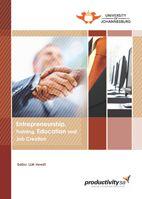 Entrepreneurship, Training, Education and Job Creation Entrepreneurship Training, Conference, Finance, This Book, University, Management, Education, Books, Libros